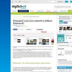 Pourquoi vous avez intérêt à utiliser Pinterest?