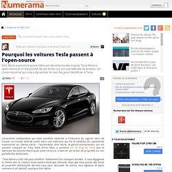 Pourquoi les voitures Tesla passent à l'open-source