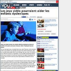 Les jeux vidéo pourraient aider les enfants dyslexiques
