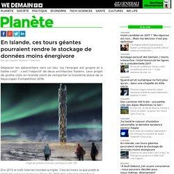 En Islande, ces tours géantes pourraient rendre le stockage de données moins énergivore