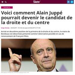 Voici comment Alain Juppé pourrait devenir le candidat de la droite et du centre
