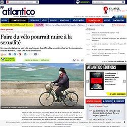 Faire du vélo pourrait nuire à la sexualité