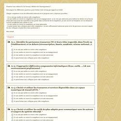 Pourriez vous obtenir le C2I niveau 2 Métiers de l'Enseignement ?