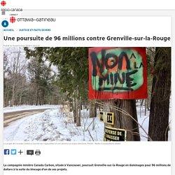Une poursuite de 96 millions contre Grenville-sur-la-Rouge