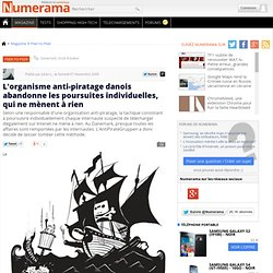 L'organisme anti-piratage danois abandonne les poursuites i