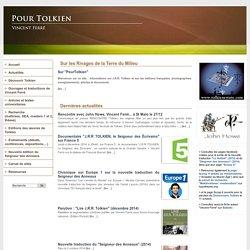 PourTolkien.fr - Site de Vincent Ferré