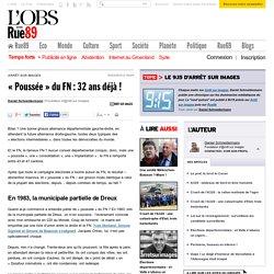 «Poussée» du FN: 32ans déjà!