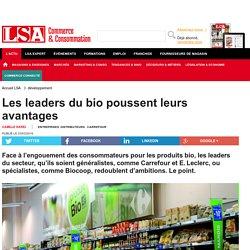 Les leaders du bio poussent leurs avantages - Produits Biologiques