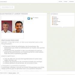 Alain Poussou et Laurent Poussou - personnalites.fr