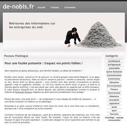 Poussou Podologue - de-nobis.fr