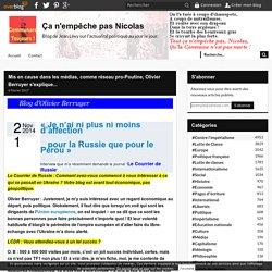 Mis en cause dans les médias, comme réseau pro-Poutine, Olivier Berruyer s'explique...