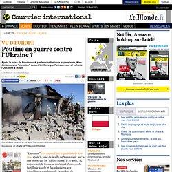 Poutine en guerre contre l'Ukraine