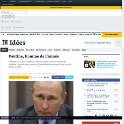 Poutine, homme de l'année
