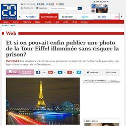 Et si on pouvait enfin publier une photo de la Tour Eiffel illuminée sans risquer la prison?