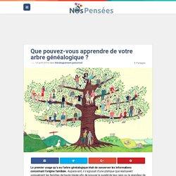 Que pouvez-vous apprendre de votre arbre généalogique ? – Nos Pensées