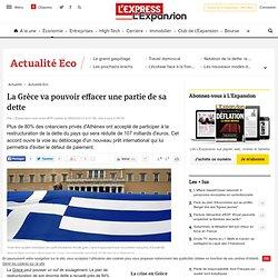 La Grèce va pouvoir effacer une partie de sa dette