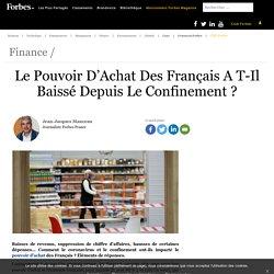 Le pouvoir d'achat des Français a-t-il baissé depuis le confinement ?