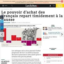 Le pouvoir d'achat des Français repart timidement à la hausse, Social