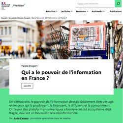 Qui a le pouvoir de l'information en France ?