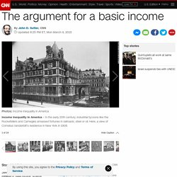 The argument for a basic income