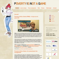 Poverty Is Not A Game :: PING