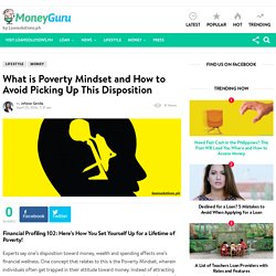 What is Poverty Mindset and How to Avoid This Disposition