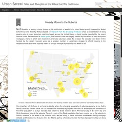 Urban Scrawl: Poverty Moves to the Suburbs