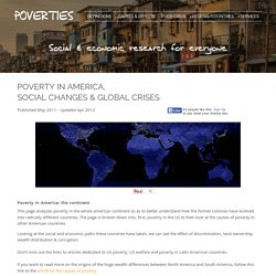 Poverty in America: Overcoming Economic and Social Crises