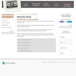 Poverty Rate, Poverty Thresholds & Census Information
