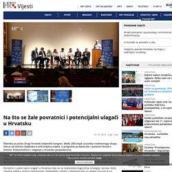 HRT: Na što se žale povratnici i potencijalni ulagači u Hrvatsku (1.7.2016)