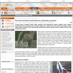 Povrchové odvodnění areálu Čakovice, zkušenosti s provozem - TZB-info