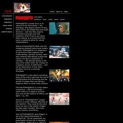 Films by Reggio