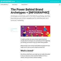 The Power Behind Brand Archetypes