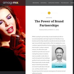 The Power of Brand Partnerships – Amagi MIX Blog