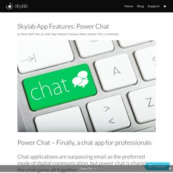 Power Chat - The Power is yours!