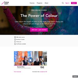 The Power of Colour - Free online course