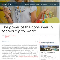 The power of the consumer in today's digital world