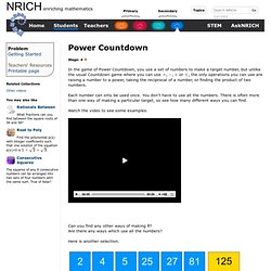 Power Countdown