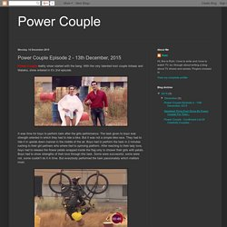 Power Couple Episode 2 - 13th December, 2015