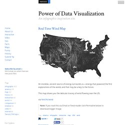 Power of Data Visualization - An infographic inspiration site.