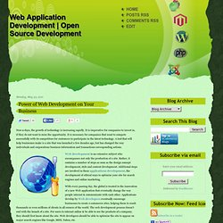 Power of Web Development on Your Business