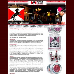 Power Horse Energy Drink South Africa..Have an event?Lets Sponsor it !