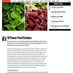 10 Power Food Combos - The Daily Beast