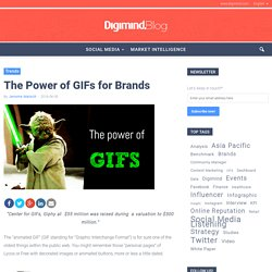 The Power of GIFs for Brands - Digimind Blog