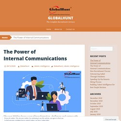 The Power of Internal Communications