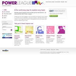 Power League | Home