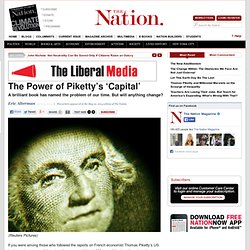 The Power of Piketty's 'Capital'