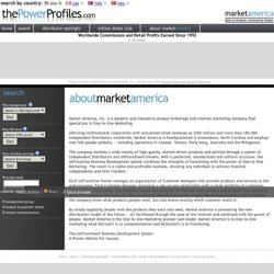 The Power Profiles - Market America
