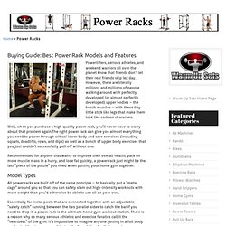 Best Power Rack Reviews and Guide