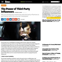 The Power of Third-Party Influencers